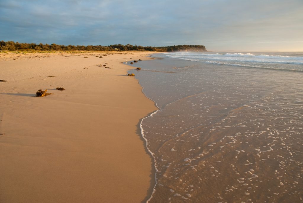 Moruya Beach in the Afternoon